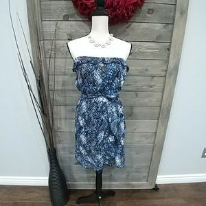 Rock & Roll Cowgirl Frilly Dress sz S